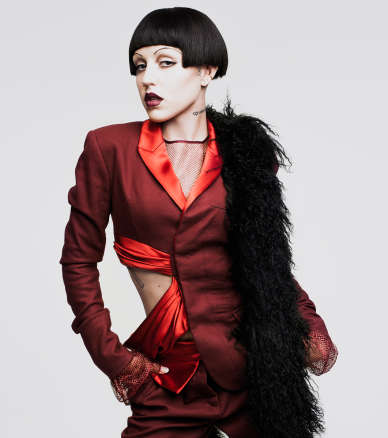 Daring Dress Up Editorials - The Vogue US Brooke Candy Photoshoot Features Many Distinct Looks