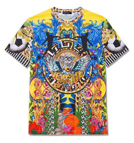 30 Baroque Streetwear Finds - From Kaleidoscopic T-Shirt Designs to Gilded Lithography Leggings