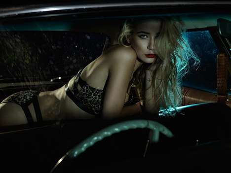 Sensual Backseat Photoshoots - For Your Eyes Only by Peter Coulson Stars Rhiannon Tragear-Ragg