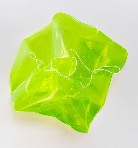 Abstract Neon Sculptures - Berta Fischer
