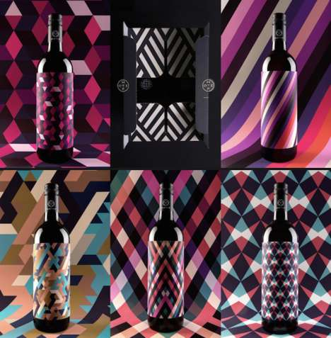Modular Wine Packaging - These Wine Bottle Designs are Inspired by Geometric Shapes