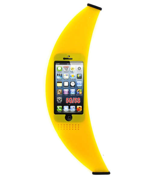 Fruit Snack Tech Accessories - Shop Jeen's Banana Phone Case is Humorous and Protective