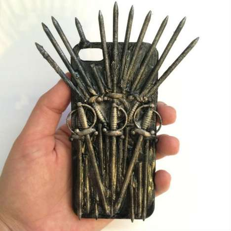 Medieval Smartphone Protectors - The Game of Thrones iPhone Case is as Sharp as the Iron Throne