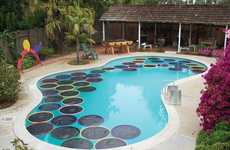 This Homemade Pads are a Great Way to Naturally Heat Your Pool