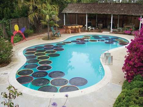 Solar Pool Pads - This Homemade Pads are a Great Way to Naturally Heat Your Pool