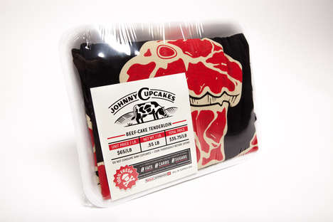 Meaty T-Shirt Packaging - Johnny Cupcakes