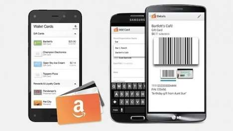 Digitized Gift Card Apps - The Amazon Wallet App Lets You Digitally Store Loyalty and Gift Cards