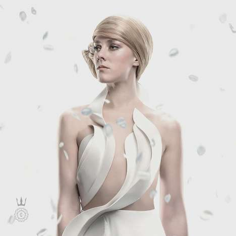 Dystopian Film Fashion - Hunger Games Capitol Couture Showcases Two Pristine Outfits