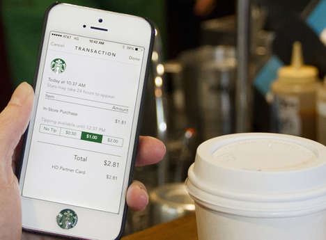 Crossover Wallet Apps - Starbucks