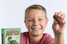 The Dinosaur Poop Dig Lets Children Excavate Comical Prehistoric Remains