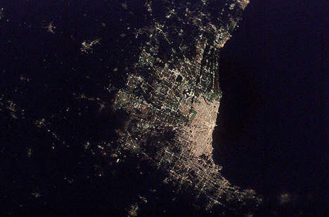 City Constellation Photography - 'Cities at Night' Makes Cool Photography Useful