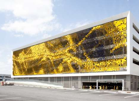 Artistically Shifting Facades - This Interactive Facade Changes According to Your Position
