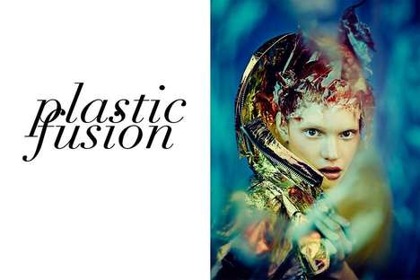 Hazy Futuristic Editorials - The Vestal Magazine