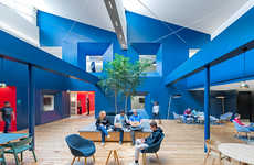 Vibrantly Elegant Headquarters - The Beats by Dre Offices Are More Sophisticated