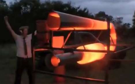 Gigantic Fart Machines - This Fart Machine Will Emit a Deafening Roar Across the English Channel