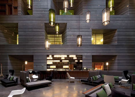 Culturally Contextualized Hotels - The Le Meridien Hotel Features an Archived Design