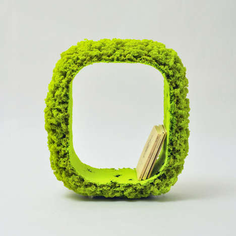 Moss-Like Furniture - The Melt up Furniture Collection Experiments with New Substances