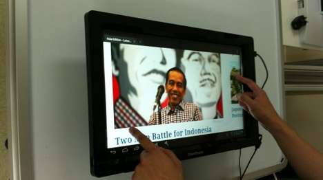Convertible Touchscreen Frames - The Zmartframe Brings Touchscreen Capability to Regular Monitors