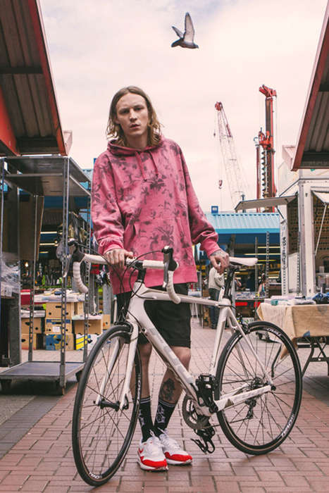 Cheeky Cycling Lookbooks - The Tour de Chimp Lookbook is a Cyclist