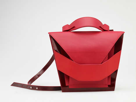 Layered Leather Totes - Linda Sieto