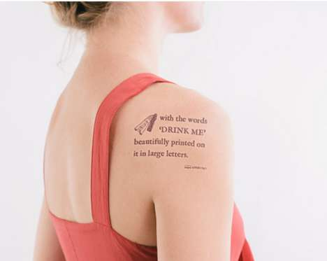 Record-Breaking Tattoo Chains - Litographs Aims to Ink Over 2,500 Bodies with the Same Tattoo