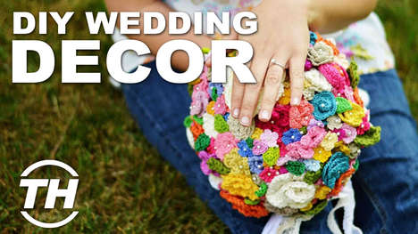 Celebratory Customization - Trend Hunter Editor Meghan Young Discusses DIY Wedding Decor