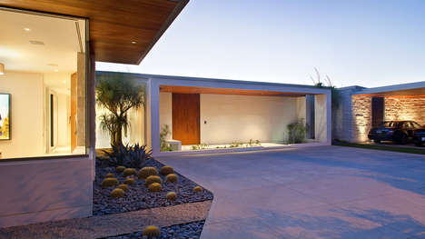 Fluid Al Fresco Abodes - The Trousdale Residence by William Hefner Defines Modern Architecture