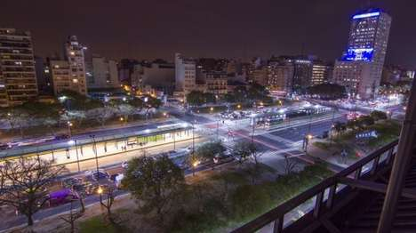 Computer-Controlled City Lights - The Urban Lights of Buenos Aires Can Be Controlled From a Browser