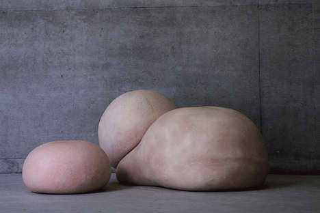 Skin-Like Chairs - 'A Body of Skin' is a Seat That Looks Similar to Flesh