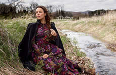 Countryside Celeb Editorials - The Latest Allure Cover Shoot Stars Actress Rachel McAdams
