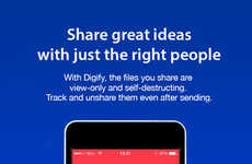 Private File-Sharing Apps - Digify is Like Snapchat, but for Important Personal Documents