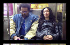 This Photo Series Shows Subway Commuters Reacting to Strangers