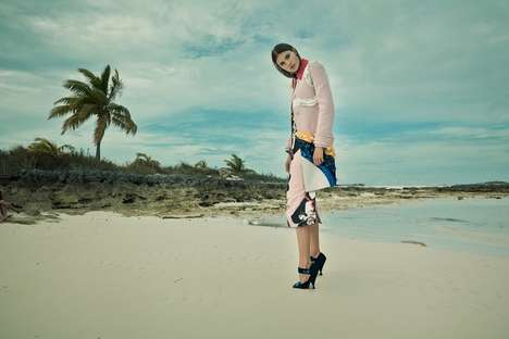Modern Tropical Editorials - The Latest Issue of SCMP Style Magazine Stars Model Keke Lindgard