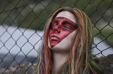 Fierce Face Paint Editorials