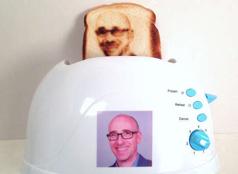 Custom Selfie Toasters - Toastie is the Ultimate Way to One Up Social Media Selfies