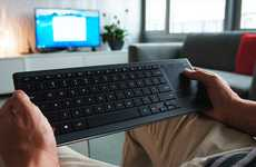 Conteporary Companion Keyboards - The Logitech Living-Room Keyboard Allows You to Relax