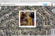 Cat Surveillance Maps - 'I Know Where Your Cat is' Emphasizes Surveillance Culture