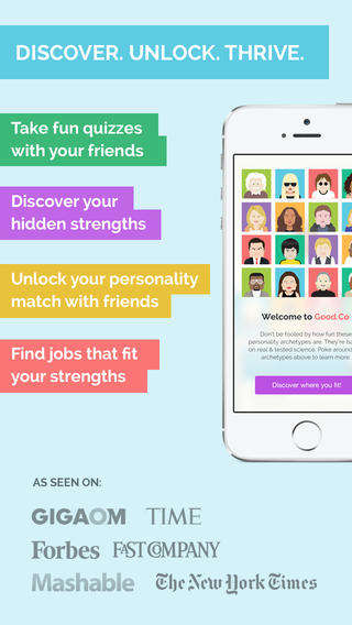 Workplace Personality Apps - The Good.Co App Lets You Find Happiness in an Appropriate Workplace