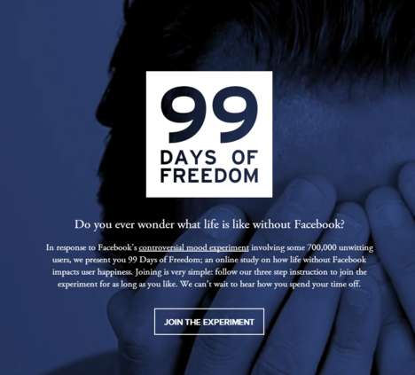 Anti-Social Network Projects - 99 Days of Freedom Challenges You to Give Up All Use of Facebook