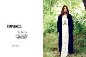 The Latest ELLE Serbia Cover Shoot Stars Model Maja Latinovic