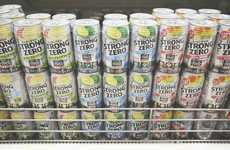 Japan's Strong Zero Pre-Mixed Cocktails Come in Cans