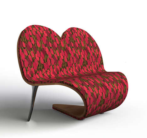 Playful Romantic Seating - The Heartseat by Johan and Elvira