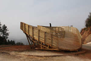 This Viewing Platform Also Acts as a Playground