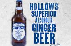 The Hollows All Natural Alcoholic Ginger Beer is a Healthier Alternative