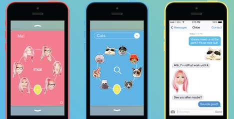 Customizable Emoticon Apps - The Imoji App Lets Smartphone Users Create Their Own iPhone Emojis