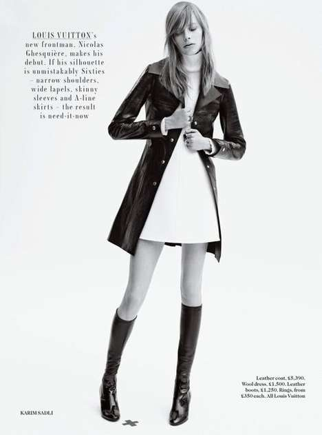 Opulent British Outerwear Editorials - The Vogue UK Hit Reset Photoshoot Features Formal Looks