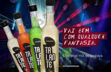 Brazilian Alcoholic Beverages - Talante Mixes National Spirit Cachaca with Regional Flavors