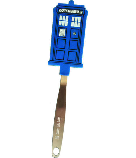 Time Machine Spatulas - These Tardis-Inspired Doctor Who Accessories are Perfect for Foodie Whovians