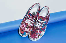 These Floral Sneakers Feature Designs by the Legendary Thierry Boutemy