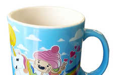 Kitschy Unicorn Mugs - This Unicorn Mug Publically Declares Your Belief in the Mythical Pony